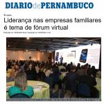 Liderança nas empresas familiares é tema de fórum virtual (DP)