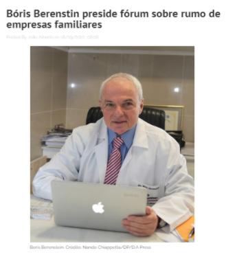 Boris preside fórum sobre rumo de empresas familiares (João Alberto)
