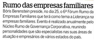 Rumo das empresas familiares (João Alberto)